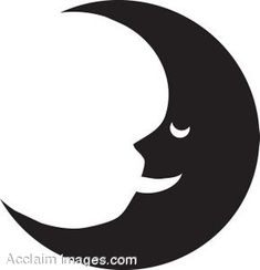 moon silhouette - Google Search