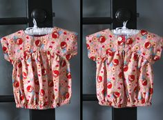 Costura Katia, Costura!: Izzy Top e Vestido - Molde gratuito com tutorial!