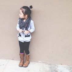 Kids boots style