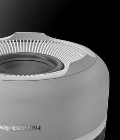 mini speaker Harman Kardon Aura White Product Design #productdesign: