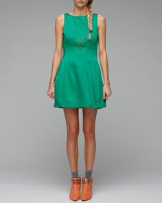 The little green dress. I'll take one in every color...thanks