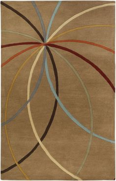 Surya FM-7140 Forum Hand Tufted Wool Rug 2 x 3 Rectangle Home Decor Rugs Rugs