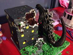 Image result for godzilla birthday Godzilla Party, Godzilla Birthday Party, 9th Birthday Parties, 10th Birthday, Transformer Birthday, Kids Inspire, King Kong, Party Time, Halloween Decorations