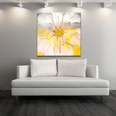 Ready2hangart Alexis Bueno 'Painted Petals XXXIV' Canvas Wall Art - Overstock™ Shopping - Top Rated Ready2hangart Canvas