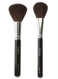 Cala Lily Makeup Brushes Powder 501 & Blush 502 + Aviva Nail Buffer by Cala. $25.99. 1 Cala Lily Powder Brush. The lot includes:. 1 Aviva Nail Buffer. 1 Cala Lily Blush Brush. Cala Lily Powder Brush: The silky high-grade brush from Cala is shaped perfectly to apply loose powder over the face evenly and smoothly. Natural hair bristles assure professional coverage. Cala Lily Blush Brush: Cala Professional Blush Brush features a tapered head and is specially designed for...