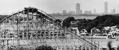 View Of Boston From Nantasket Coaster
