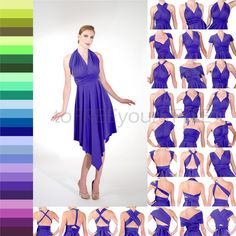 DIAMOND infinity dress Free-Style Dress by toFREEyourSTYLE on Etsy
