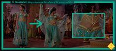 "The FollowUP: Disney's Jasmine and the evolution of the ""princess"" aesthetics Princess Line, Disney Princess, Disney Jasmine, Wardrobe Design, Great Movies, Live Action, Aladdin, Evolution, Nostalgia"