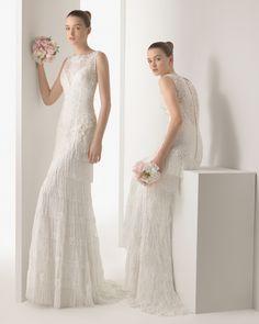 Izar vestido de novia soft Rosa Clara