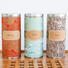 These elegant tea tins are so unique and easy to make. I'll show you where to get the right type of paper and the right style of tea tin!