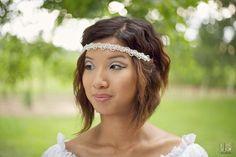 Bridal Headband by PetalsbyKC!!