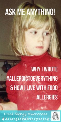 What is Why did I write it? How do I navigate life with multiple food allergies? Why Kickstarter? Ask me anything! is a cookbook and lifestyle guide for living with food allergies, live on Kickstarter! Ask Me Anything, Food Allergies, Writing, Lifestyle, Live, Being A Writer, Letter