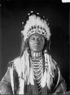 Wiatonatotciskan (Blanket of the Sun, aka: Jackson Sundown). Nez Perce. 1908)