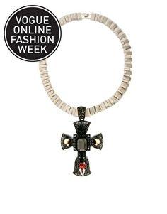 ASOS Premium Ophelia Cross Necklace