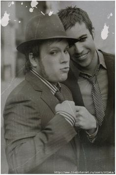 Patrick and Pete. So cute!