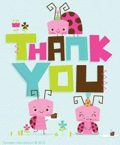 Thank you by Tamara Henderson