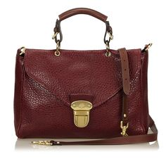 9a2f61b60c3 Catawiki online auction house  Mulberry - Polly Push Lock Bag