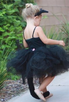 Kitty Cat Tutu costume Infant thru Adult by Zacharydickorydock, $55.99