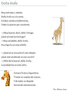Poema infantil. Puntuación del diálogo. Signos de exclamación y de pregunta. Bilingual Education