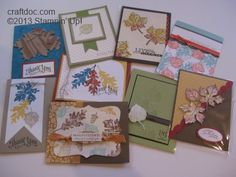 CRAFTDOC » Blog Archive » Stampin' Up! Birthday Sale Gently Falling