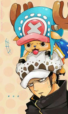 Trafalgar Law and Chopper: maybe one of the funniest moments in One Piece. The moment Law realizes that the definition of an alliance is best buds to Luffy. Anime One Piece, One Piece Ace, One Piece Photos, One Piece World, One Piece Chopper, Manga Anime, Anime Art, Zoro, One Piece Tumblr