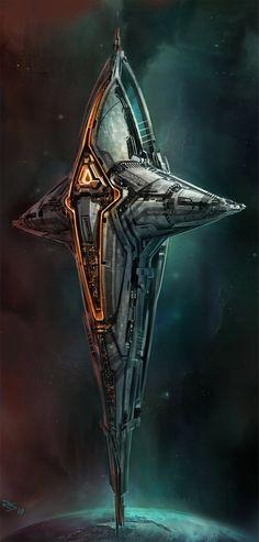 Concept ships by Robert Simons