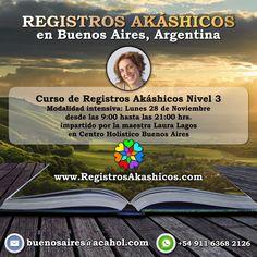 #RegistrosAkashicos #CrecimientoPersonal #TerapiasAlternativas #TerapiasComplementarias #espiritualidad @redHolistica @CentroHolBsAs @LauraLagosAkash