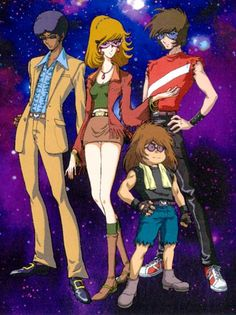 Interstella 5555--colaboracion de Toei animation y Daft punk :)