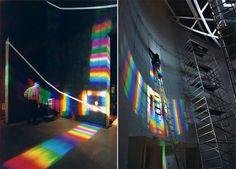 Solar Spectrum Environmental Art par Peter Erskine - Journal du Design