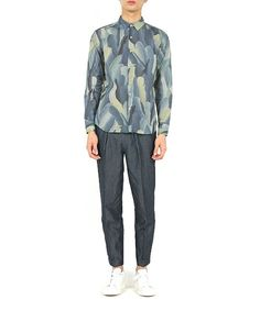 Paul Smith Collection(ポール・スミス コレクション)のTROPICAL FEATHERS PRINT SHIRT【164384 N8875】(シャツ/ブラウス)|詳細画像