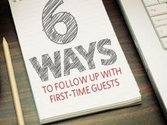 These steps will help your church connect with new people and bring them back.  . Image Info: