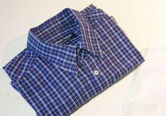 stoffbeutel nähen Upcycling: Tasche aus Hemd nähen