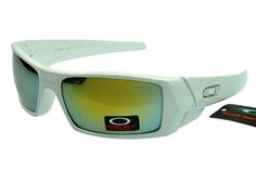 Clearance Oakley Gascan Sunglasses White Frame Yellow Lens 9db753eec0c
