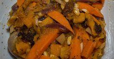 De herfst op je bord: zoetzure pompoen met sweet potatoes