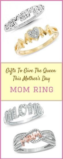 Make Mom's day extra special with this sparkling beatiful ring! Because she deserves the very best.  #MothersDay #mothersdaygift #silvering #goldring #ring #giftforher #womensaccessories #jewelry #ad