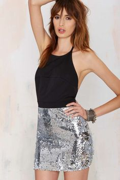 Nasty Gal Night Pulse Sequin Dress | Shop Clothes at Nasty Gal!