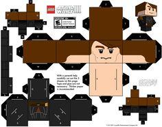 LEGO Anakin Skywalker. Más imprimibles GRATUITOS en  http://www.fiestuqueando.blogspot.com.es