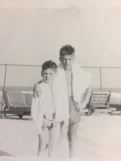 Frank Stallone with older brother Sly