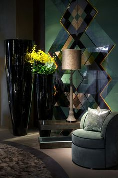 Geometric wall decor