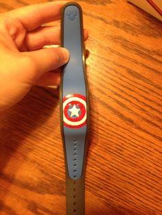 DIY Disney Magic Band- Captain America Magic Band