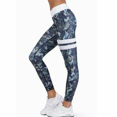 2f9be7ed1f8 2017 High Waist Compression Women Gym Yoga Running Athletic Leggings Sports  Pants for Fitness Trouser