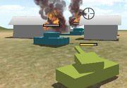 3D Küp Tank ismini verdiğimiz oyunda tek başınıza bir orduya karşı savaşacaksınız. Yeşil renkli bir tank ile oyunda tek başınıza dev bir orduya saldıracaksınız..Oyunun içerisinde saldırıyı başarılı bir şekilde tamamlayabilmek için düşman tanklarını ve diğer düşman kuvvetlerini gördüğünüz anda ateş etmelisiniz. http://www.3doyuncu.com/3d-kup-tank/