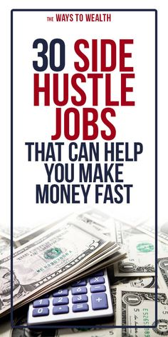 These are the side hustle ideas that actually work in 2020 whether you're looking to make a little extra cash or start a scalable online business. Earn More Money, Earn Money From Home, Make Money Fast, Earn Money Online, Make Money Blogging, Easy Online Jobs, Online Work, Extra Cash, Extra Money