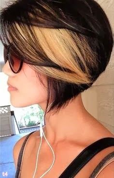 Photos of trendy short haircuts 2014