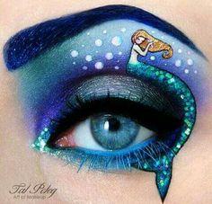 Mermaid Makeup.