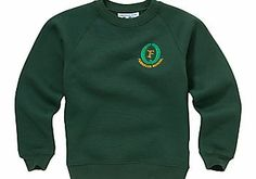 Fernielea Primary School Unisex Sweatshirt, Plain bottle green sweatshirt with a crew neck and embroidered school logo badge Sizing: S: Chest 56cm (Barcode EAN=5052394797597) http://www.comparestoreprices.co.uk/childrens-clothes/fernielea-primary-school-unisex-sweatshirt-.asp