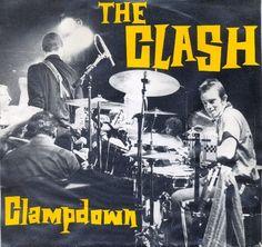 The Clash - Clampdown - single sleeve art - 1979