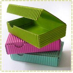 Cajas en cartón micro corrugado dec olores