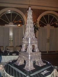 Eiffel Tower sweet sixteen cake. www.SweetSweetSues.com