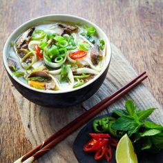 Soupe chinoise : recette de la soupe chinoise
